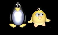 Ente und Pinguin